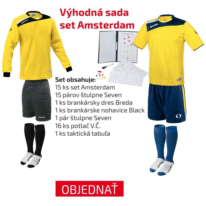 Objednajte si výhodnú sadu dresov aj s darčekom pre trénera
