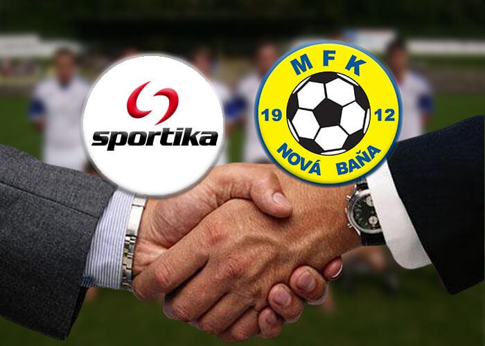 Sportika podpísala kontrakt s klubom MFK Nová Baňa